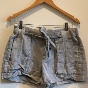 Banana Republic Gray Tie Shorts